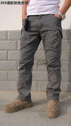 Urban Tactical Pants IX9 Mens militar de combate asalto deporte exterior SWAT ejército de formación pantalones 97% algodón 3% elastano cremallera YKK en Pantalones deportivos de Moda y Complementos Hombre en AliExpress.com | Alibaba Group