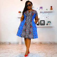 African Dresses For Kids, Latest African Fashion Dresses, African Dresses For Women, African Print Fashion, African Attire, Modern African Fashion, African Wear For Ladies, Ankara Fashion, Ankara Short Gown Styles