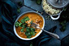 Butter chicken A Food, Food And Drink, Butter Chicken, Kitchenette, Garam Masala, Quinoa, Curry, Favorite Recipes, Meals