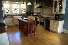 Kitchen Pine Flooring