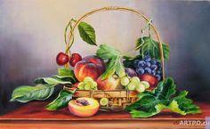 Самарская Елена. Про фрукты в корзинке