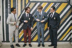 2014 Wedding Trends | Styled Grooms | 60s inspired groomsmen