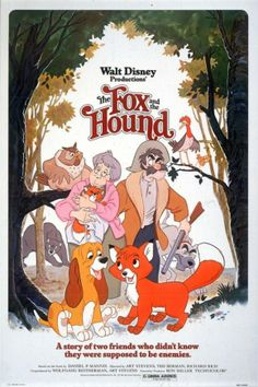 #The_Fox_and_the_ Hound #Disney_Movie_Posters #Disney_Classic