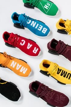 "Race, religious beliefs, and sexual orientations can be used as tools of divisiveness. Thankfully, the Pharrell Williams x Adidas NMD ""Human Race"" is as much a reminder that no person is greater than the next as it is a scorching hot take on 2016's sneakers."