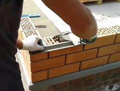 Taking pride in your masonry Brick Bbq, Brick Laying, Building Foundation, Brick Masonry, Brick Construction, Brick Architecture, Diy Home Repair, Diy Kitchen Decor, Brick And Stone