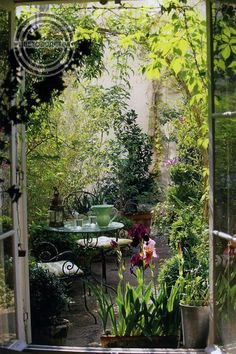 These Secret Garden design ideas can inspire you to make one for yourself. Get the best secret garden landscaping ideas for your backyard. Small Courtyard Gardens, Small Courtyards, Small Gardens, Outdoor Gardens, Outdoor Sheds, Outdoor Spaces, Courtyard Cafe, Courtyard Ideas, Outdoor Balcony