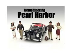 Remembering Pearl Harbor 4 Piece Figure Set For 1:24 Scale Models by American Diorama - Packed in a blister pack. Only 4 figures and a bag will be received. Figure I. Figure II. Figure III. Figure IV. Each standing figure is approximately 3 inches tall.-Weight: 2. Height: 8. Width: 15. Box Weight: 2. Box Width: 15. Box Height: 8. Box Depth: 7