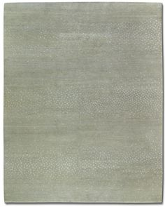 """""""Aurora"""" area rug in Silver designed by Barbara Barry for Tufenkian: wool, bamboo silk, and linen."""
