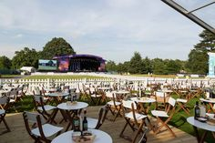 Brand Environment at Kew The Music Festival with Fuse for John Lewis #kewthemusic #gardenlounge #sponsorshipactivation