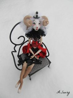 Augustine art doll