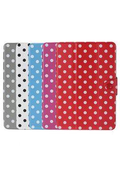 ROMWE | Polka Dot PU Smart Case Folio Magnetic Stand For iPad Mini, The Latest Street Fashion #ROMWEROCOCO