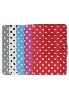ROMWE | Polka Dot PU Smart Case Folio Magnetic Stand For iPad Mini, The Latest Street Fashion #ROMWEROCOCO