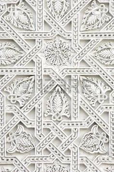 Inspirações de padrões e texturas White Patterns, Textures Patterns, Color Patterns, Print Patterns, Embroidery Patterns, Pattern Art, Pattern Design, Arabic Pattern, Tile Design