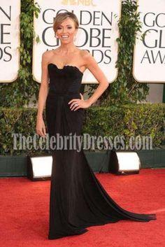 b7babd79219a Giuliana Rancic Black Evening Dress 2011 Golden Globe Awards. Grammy Red  CarpetGiuliana RancicBlack Evening DressesOrange ...
