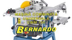 Masina combinata universala Bernardo CWM 150 Youtube, Youtubers, Youtube Movies