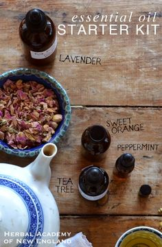 Basic Essential Oils for Daily Living - Herbal Academy