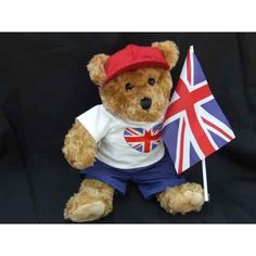 "British Celebration Bear.    Outfits & Costumes will fit 14"" - 18"" stuffed teddy bears & rag dolls plus all standard Build A Bear stuffed animals."