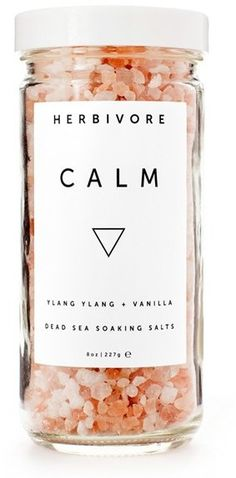 Herbivore Botanicals 'Calm' Bath Salts