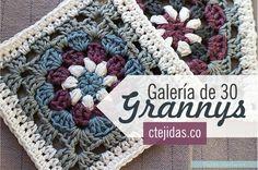 Galería: 30 Grannys a Crochet