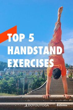 The 5 Best Handstand Exercises You Aren't Doing #yoga #fitness Yoga Sequences, Yoga Poses, Free Yoga Videos, Shoulder Muscles, Hip Ups, Yoga Tips, Yoga Benefits, Handstand, Yoga For Beginners