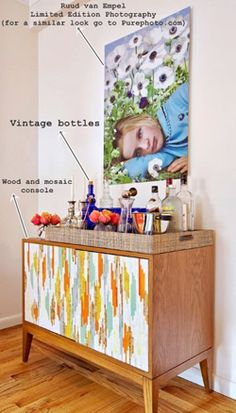 how to buy vintage art and work it into your home
