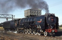 South African Class 25 condensing locomotive.