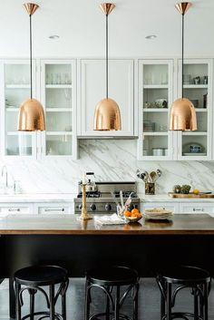 Decorar la cocina con elementos en cobre | Mi Casa es Feng