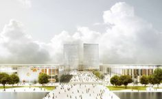 Serie Architects has been awarded first prize by the competition Technical Committee for the Wuxi Xishan Civic Centre in China. Serie saw off strong