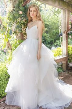 Bridal Gowns and Wedding Dresses by JLM Couture - Style 9659
