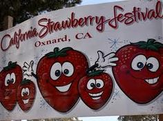 Eat & drink all things strawberry at the California Strawberry Festival, Oxnard CA