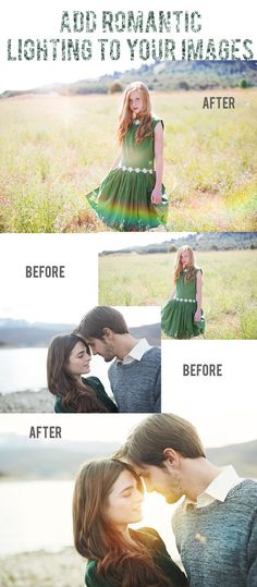 Photoshop Action Lighting Overlays