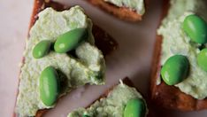 Edamame Hummus with Spiced Pita Chips - Recipe - FineCooking