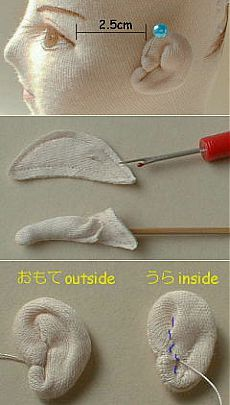 How to create a Y EAR OF TEXTILE doll ..