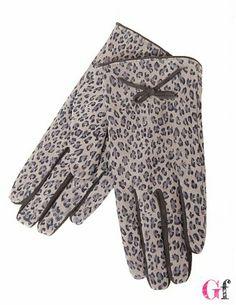 Luvas Animal Print Cinza #Tantra #Cold #Goodfashion