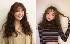"Korean women are getting ""teddy bear curls"" and it's the adorable trend that you… – Zita Bretherton - Perm Hair Styles Korean Curls, Korean Perm, Wavy Hair Perm, Hair Perms, Asian Makeup Tips, Small Curls, Bold Makeup Looks, Natural Wavy Hair, Air Dry Hair"