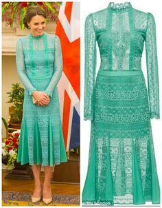 Hijab Wedding Dresses, Modest Dresses, Fall Dresses, Kate Middleton Latest, Kate Middleton Style, Royal Fashion, Fashion Looks, I Dress, Party Dress