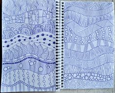 LuAnn Kessi: Sketch Book......Background Fillers
