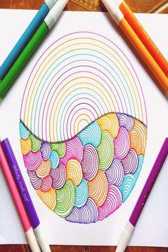 markers easy drawing zentangle drawings patterns best10en trend20us