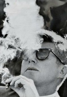 JFK had what all men want - good looks, charisma, style and power.