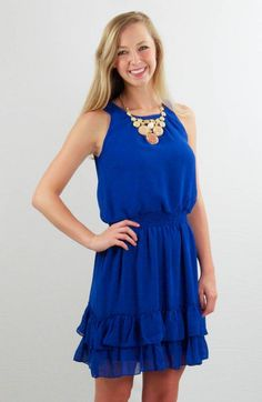 Great Game Day Dress for LA Tech games!