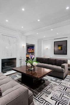 MONTREAL AT ITS FINEST - contemporary - Living Room - Montreal - Britto Charette LLC - NYC Interiors