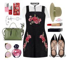 """Floral - Pinafore..."" by unamiradaatuarmario on Polyvore featuring moda, Bling Jewelry, Visvim, Boohoo, Kate Spade, Christian Dior, DKNY, Jil Sander, Chanel y Fendi"