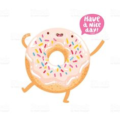 Find Funny Donut Character Wishing You Good stock images in HD and millions of other royalty-free stock photos, illustrations and vectors in the Shutterstock collection. Funny Cartoon Characters, Cartoon Faces, Cute Characters, Donut Drawing, Candy Drawing, Donut Cartoon, Cartoon Heart, Funny Character, Character Art