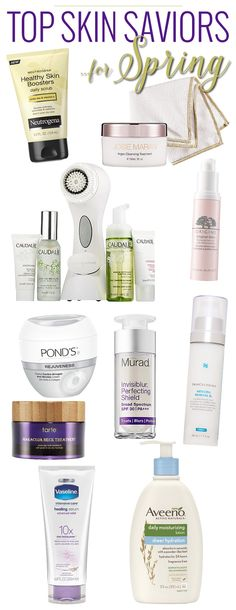 Top 10 Skin Saviors for Spring
