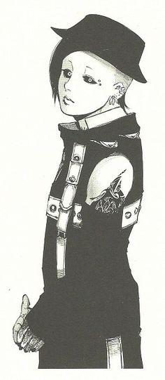 Uta from the manga