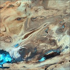 Dasht-e Kevir (Great Salt Desert, Iran) : Image of the Day