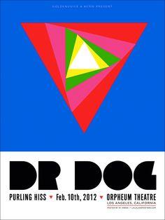 DR DOG  • The Orpheum in LA www.lalalandprints.com