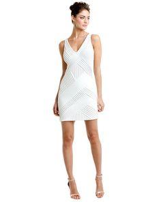Catherine Malandrino Moon Crisscross Pleat Dress- sexy! great in cobalt too. on sale $150