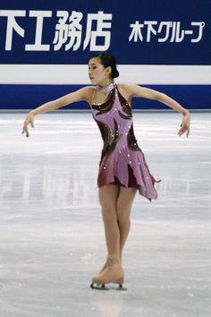 Kanako Murakami -  Purple Figure Skating / Ice Skating dress inspiration for Sk8 Gr8 Designs.