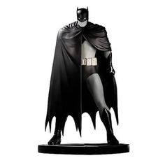 "Black and White Batman statues have been released by DC Direct over the last few years. Most of these are based on the Batman designs used by various artists for their contributions to the three volumes of ""Black & White"" stories. Artists' interpretations currently released include: Brian Bolland, Mike Mignola, Alex Ross, Paul Pope, Tim Sale, Bob Kane, Frank Miller and Neal Adams."